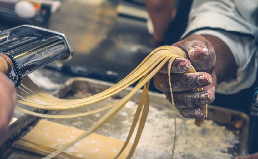 Pasta maken die droog genoeg is om te koken