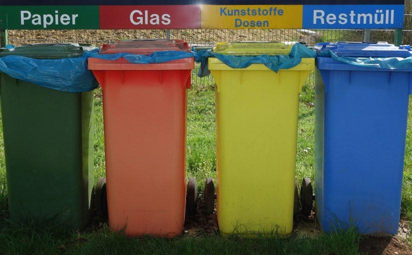 Redenen om een afvalcontainer te gebruiken